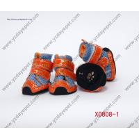 Wholesale X0808-1breathable air mesh pet shoes,dog shoes from china suppliers