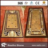 Wholesale imperial gold marble inlay flooring design from china suppliers