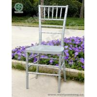 Wholesale Metal Color Series Silver Resin Chiavari Chair_YM1103S from china suppliers