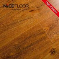 Wholesale 8mm 12mm hdf V-groove painted german techniquel aminate flooring from china suppliers