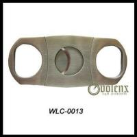 Wholesale Double Blade Stainless Steel Cigar Cutter from china suppliers
