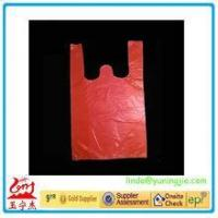 Wholesale 2016 plastic gift bag shopping HDPE Printed T-shirt bags made in China from china suppliers