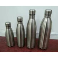 Wholesale Double Wall Stainless Steel Vacuum Flask 1000ml double wall stainless steel cold drink water bottle from china suppliers