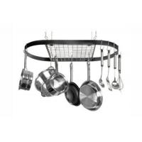 Wholesale Kitchen item series Product name:Wrought-Iron Oval Pot Rack from china suppliers