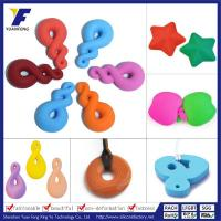 Wholesale 2016 Colorful Silicone Teething Pendants Wholesale BPA Free Safe Silicone Pendant Jewelry from china suppliers