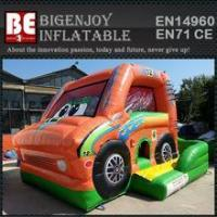 Wholesale car inflatable combo bouncer slide bouncer from china suppliers