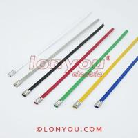 Wholesale PVC Coated Ball-Lock Cable Ties from china suppliers