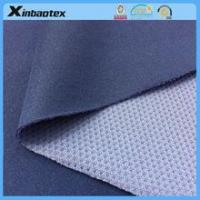 breathable Single Interlock bonded Mesh for outdoor sports