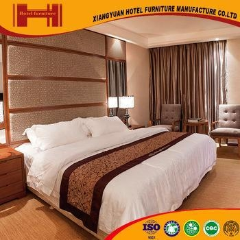 Xiangyuan 2016 foshan cheap solid wood hotel bedroom for Affordable quality bedroom furniture