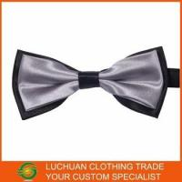 Wholesale Best Selling Shiny Satin Man Bow Tie from china suppliers