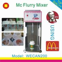 Wholesale WECAN200Ice cream shaker from china suppliers