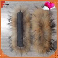 Wholesale real coat fur cuff from china suppliers