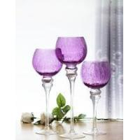 Wholesale Unique design glass candle holder from china suppliers