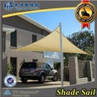 Wholesale HDPE UV stablized car parking sun shade sail from china suppliers