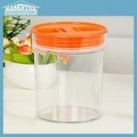 Wholesale Hot sale glass jar with plasticl id from china suppliers