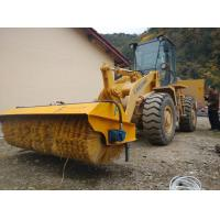 angle sweeper for loader