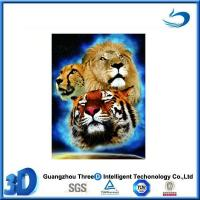 Wholesale Animal Lovely Animal 3D Lenticular Printing Art Picture with frame 2015 from china suppliers