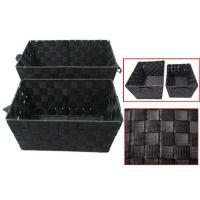 Wholesale A7920 2pcs cloth storage basket set from china suppliers