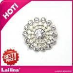 Wholesale Rhinestone Button Buckle Fashion Metal Diamante Button for decoration from china suppliers