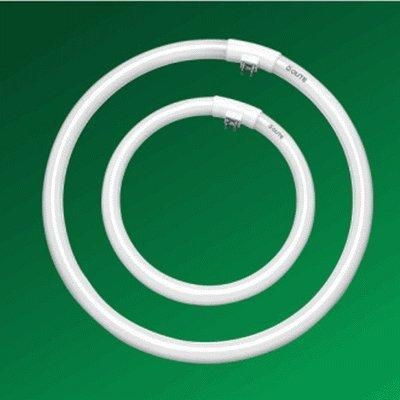 Quality T5 Tricolor Circular Fluorescent Tube (white & yellow) for sale