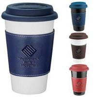 Wholesale Double Walled Ceramic Tumbler With Wrap from china suppliers