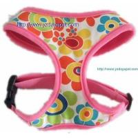 Wholesale Air mesh harness YD003-1air mesh pet harness covered with flowers canvas from china suppliers