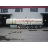 34600 liter liquid food tank trailer for vegatbale oil