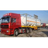 Wholesale 40 foot iso tank for chemical liquid transportation from china suppliers