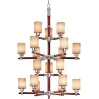 Wholesale Kenroy Home 02729 18 Light Bermuda Chandelier, Brushed Steel from china suppliers