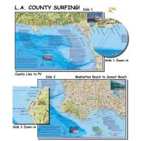 L.A. County Surfing (Laminated)