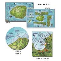 Wholesale Kauai Dive Map (Folded) from china suppliers
