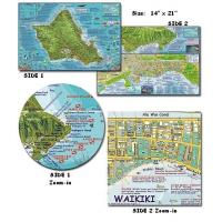 Wholesale Oahu Dive Map (Folded) from china suppliers