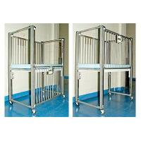 Wholesale Hospital Infant Crib with Mattress 36x25x56 from china suppliers