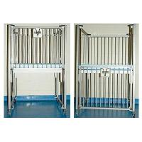 Wholesale Hospital Infant Crib with Mattress 43x25x58 from china suppliers