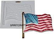 Wholesale AMERICAN FLAG PLASTER CASTING MOLD (7.25 x 6.5) from china suppliers