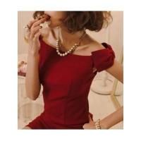 Wholesale European Fashion Style Sleeveless Off the Shoulder Boat Neck Bowtie Lady Night Out Dress from china suppliers