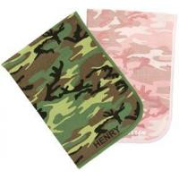 Wholesale Personalized Camo Receiving Blanket from china suppliers