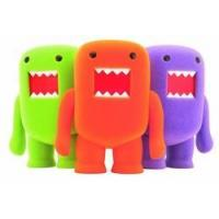 Wholesale 4 Inch Domo Flocked Vinyl Figure Orange Soda pre-order from china suppliers
