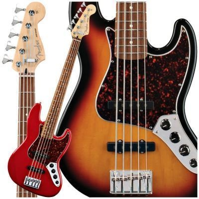 deluxe active jazz bass v 5 string bass by fender of item 41742762. Black Bedroom Furniture Sets. Home Design Ideas