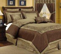 Wholesale 8PC Julian Embroidered Bed in a Bag from china suppliers