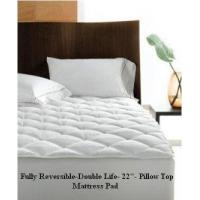 """Wholesale Reversible Pillow Top Mattress Pad-Double Life! 800TC -22"""" Deep Pocket from china suppliers"""