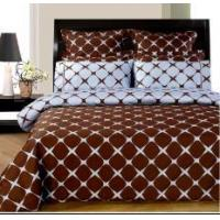Wholesale Chocolate & Blue Bloomingdale 8pc Duvet & Sheet Set from china suppliers