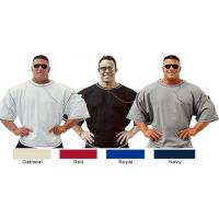Style 411 - Men's MP3 Big Top. New colors! Roomy workout shirt with built in iPod pocket.
