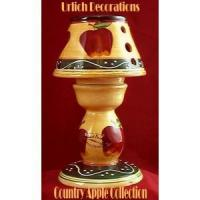 Wholesale Country apple ceramic t-light holder from china suppliers