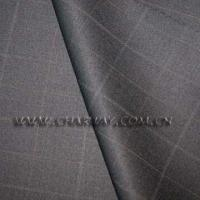 China Check Wool Suiting on sale
