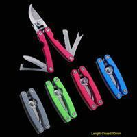China Multi-function Pruning Shears with Anodized Aluminum Handle on sale