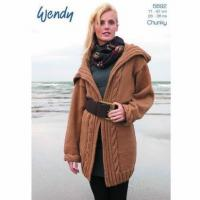 Wholesale Chunky cardigan, knitting pattern for Mode or Celtic Chunky 5692 from china suppliers