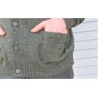 Wholesale Clothing WoolyWarm Buttnup Tweed Sweater - Derby Green from china suppliers