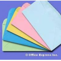 Wholesale Colored #10 Regular Envelope - Assorted - 24# Pastel colors Size: (4 1/8 x 9 1/2) from china suppliers