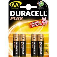 Wholesale Duracell Plus AA Size (MN1500) Battery Pack of 4 from china suppliers